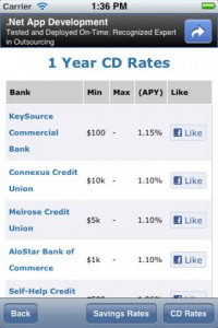 Bromoney Interest Rate iPhone App
